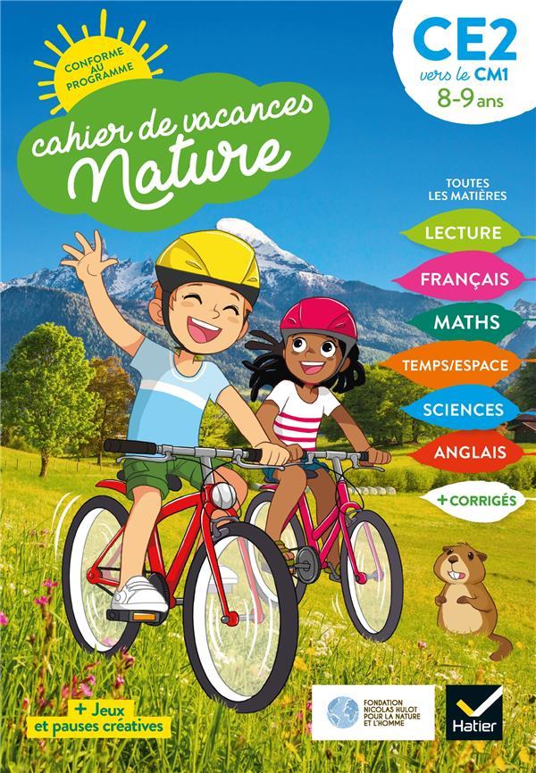CAHIER DE VACANCES NATURE 2020 DU CE2 AU CM1 89 ANS