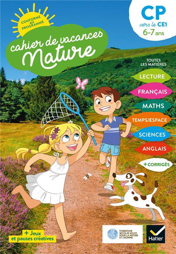CAHIER DE VACANCES NATURE  -  DU CP AU CE1 (EDITION 2020) VIDEAU/MOHN HATIER SCOLAIRE
