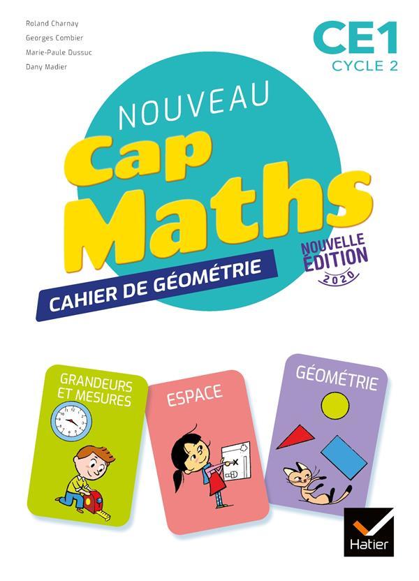 CAP MATHS  -  CE1  -  CAHIER DE GEOMETRIE (EDITION 2020)