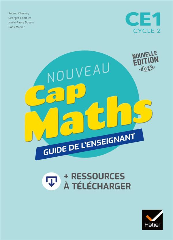CAP MATHS CE1 ED. 2020 - GUIDE PEDAGOGIQUE + RESSOURCES A TELECHARGER