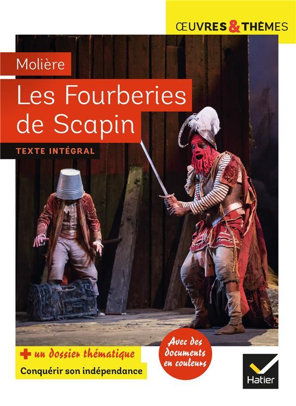 LES FOURBERIES DE SCAPIN MOLIERE/POTELET HATIER SCOLAIRE