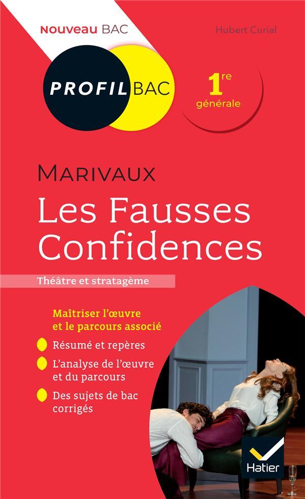 LES FAUSSES CONFIDENCES, DE MARIVAUX