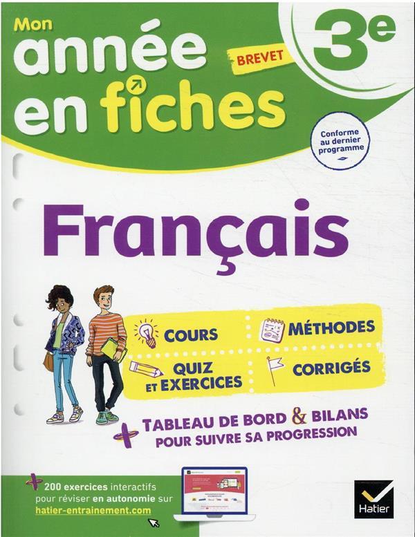 FRANCAIS 3E - FICHES DE REVISI NADIFI/SALA HATIER SCOLAIRE