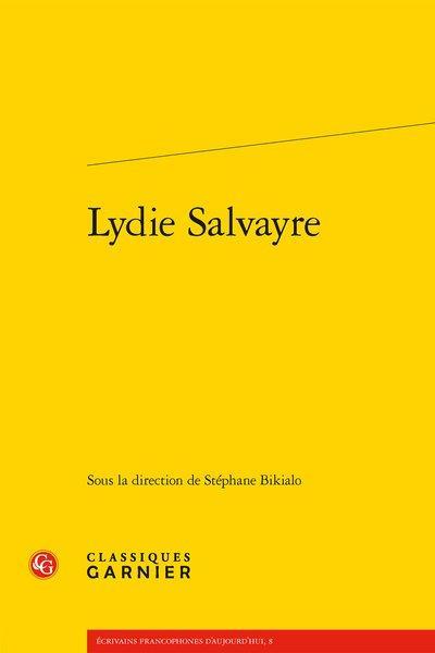 LYDIE SALVAYRE