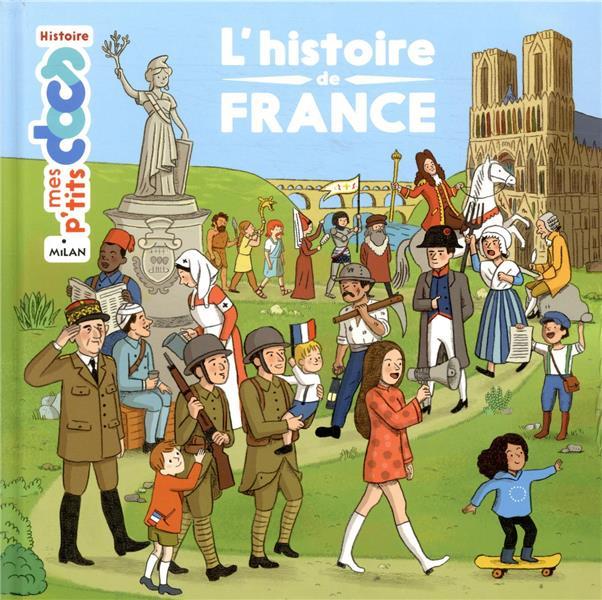 L'HISTOIRE DE FRANCE LEDU/GERMAIN MILAN