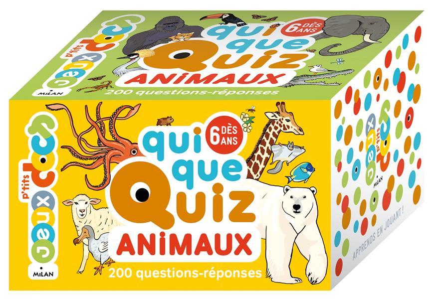 QUIQUEQUIZ ANIMAUX PREVOT/ROUQUETTE NC