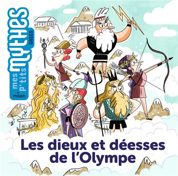LES DIEUX ET DEESSES DE L'OLYMPE MARIN/PAUWELS MILAN