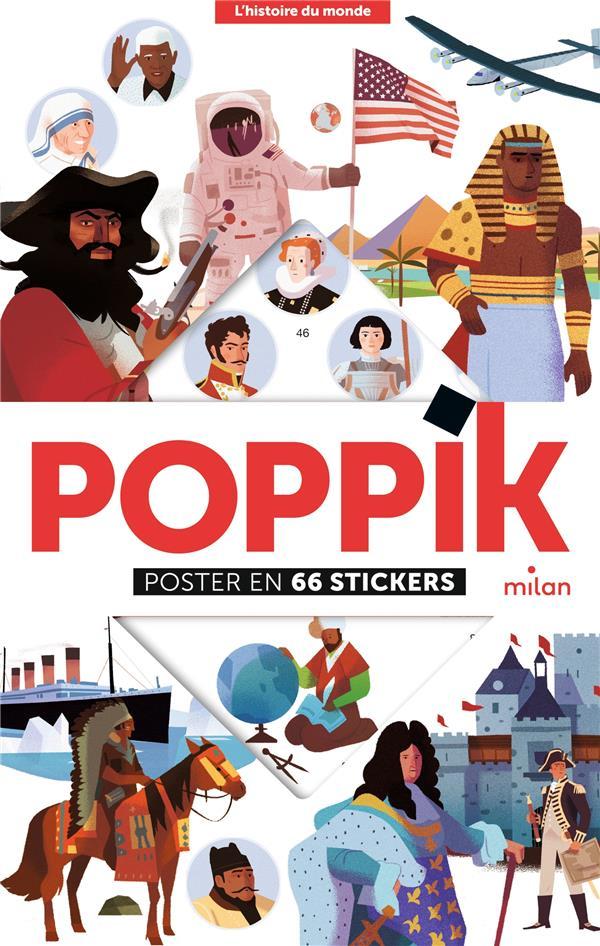 POPPIK, POSTER  -  L'HISTOIRE DU MONDE POPPIK/LATYK NC