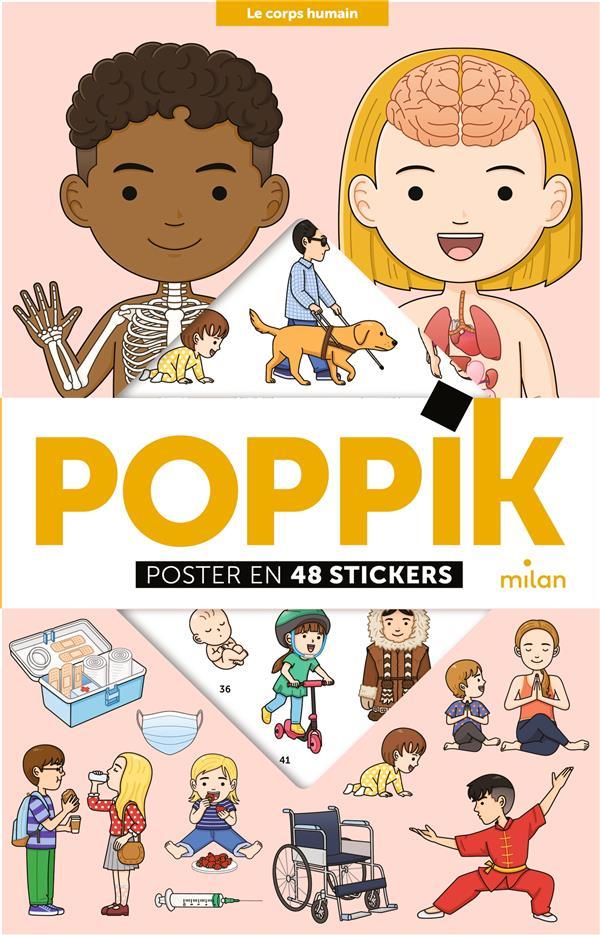 POPPIK, POSTER  -  LE CORPS HUMAIN POPPIK/WOO JOO JANG NC