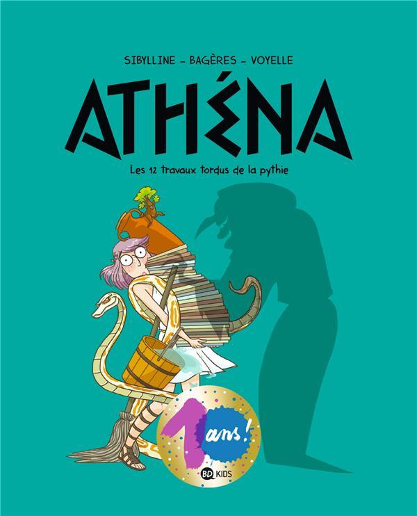 ATHENA T.4  -  LES 12 TRAVAUX TORDUS DE LA PYTHIE