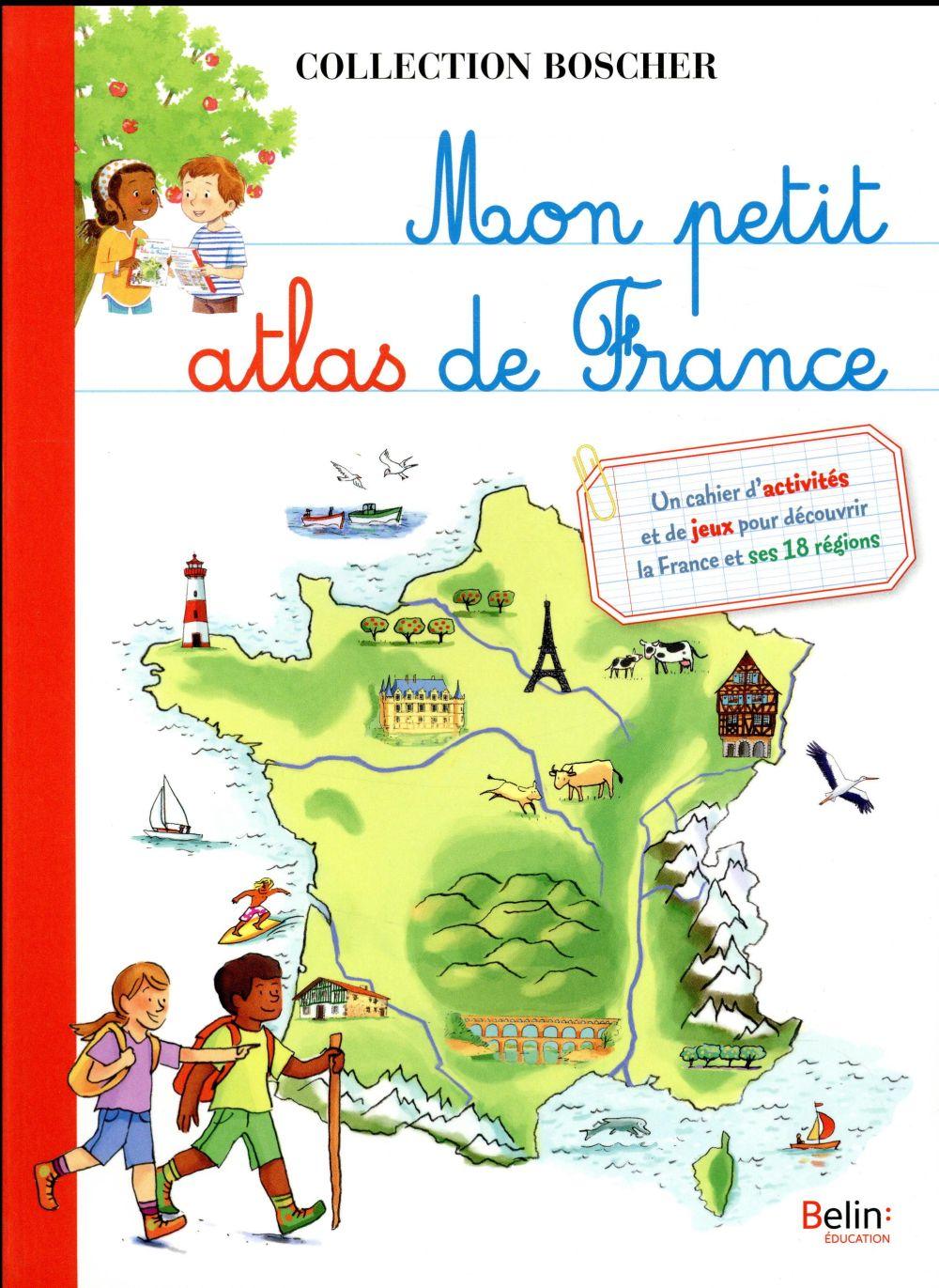 MON PETIT ATLAS DE FRANCE LESAGE AUDE DORLING KINDERS