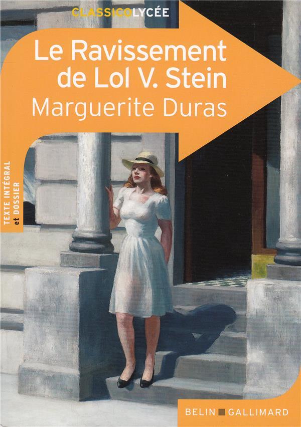 LE RAVISSEMENT DE LOL V. STEIN DURAS, MARGUERITE Belin