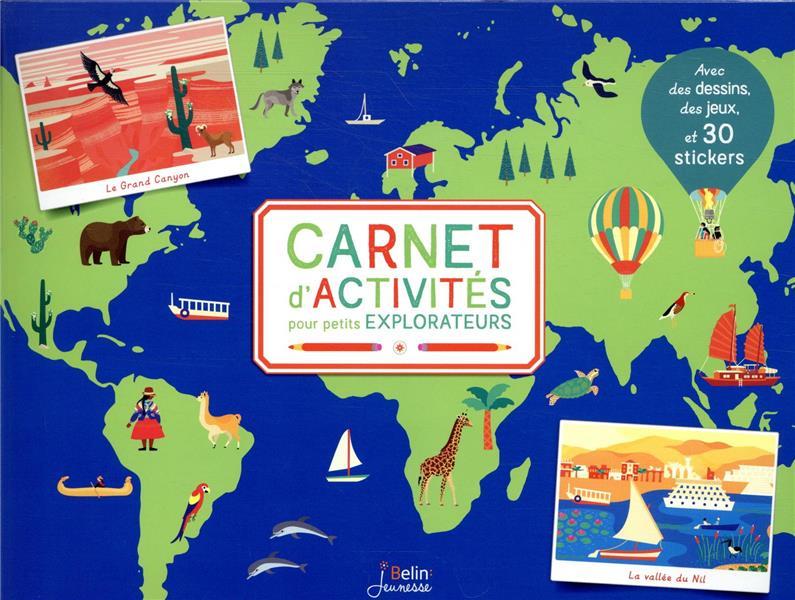 CARNET D'ACTIVITES POUR PETITS EXPLORATEURS