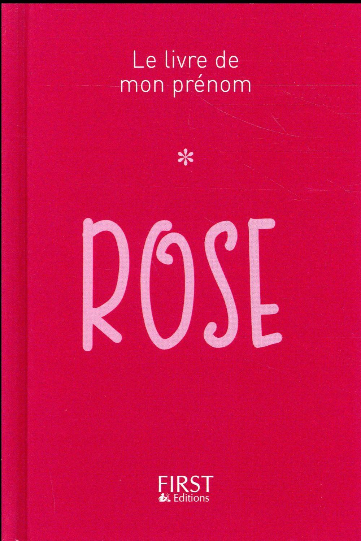 ROSE LEBRUN JULES FIRST