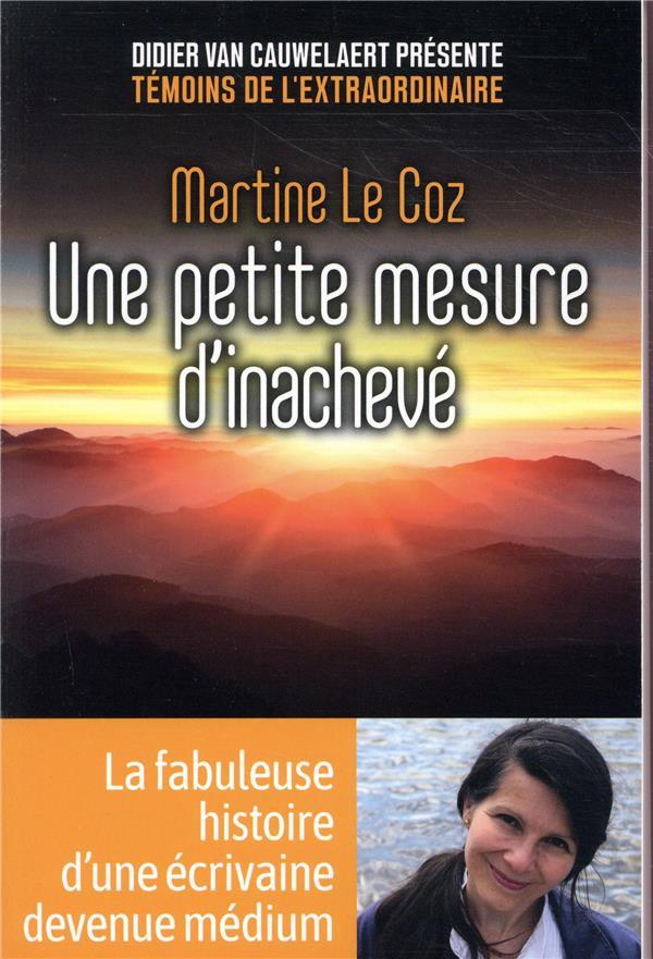 LE COZ MARTINE - UNE PETITE MESURE D'INACHEVE