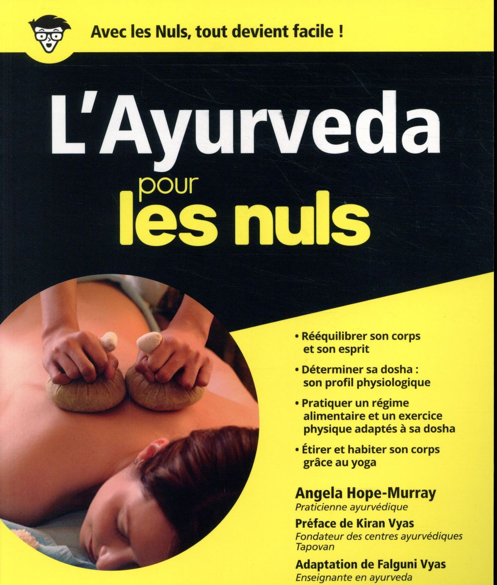 L'AYURVEDA POUR LES NULS  FIRST