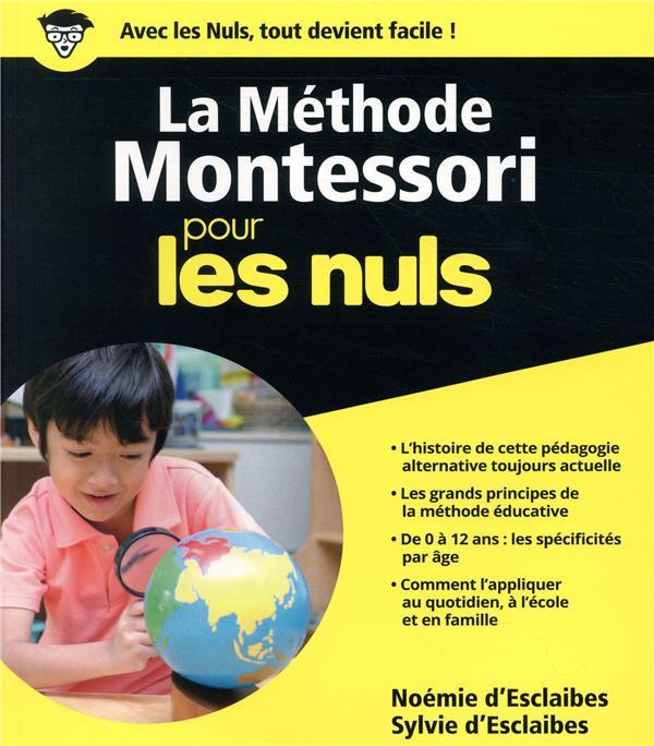 LA METHODE MONTESSORI POUR LES NOEMIE D-/SYLVIE D- FIRST