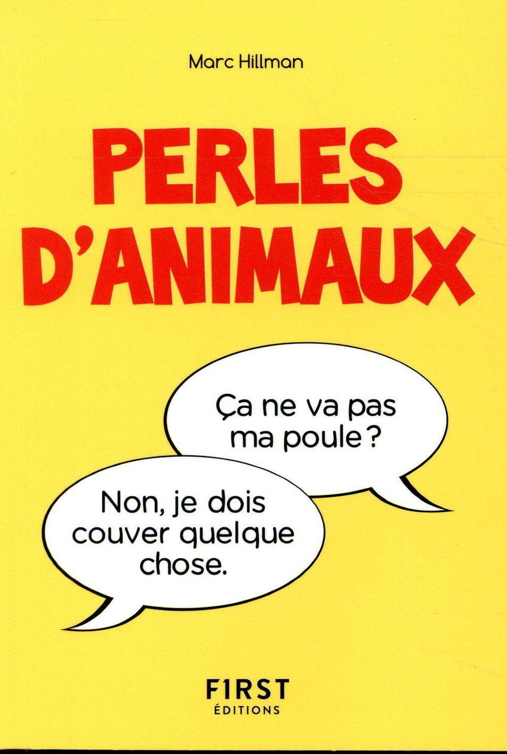 LE PETIT LIVRE DES PERLES D'ANIMAUX  FIRST