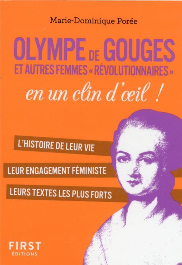 OLYMPE DE GOUGES ET LES FEMMES DE LA REVOLUTION EN UN CLIN D'OEIL