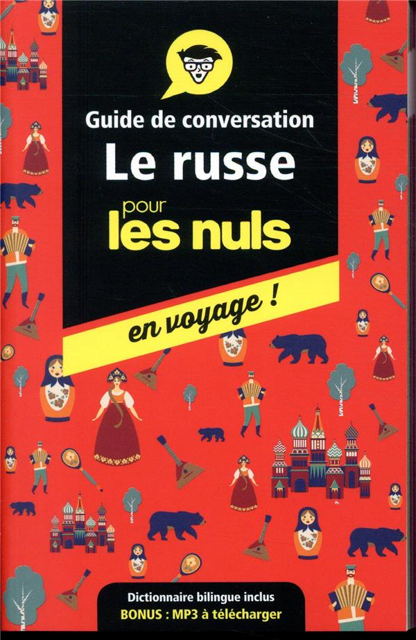 GUIDE DE CONVERSATION LE RUSSE KAUFMAN/GETTYS FIRST