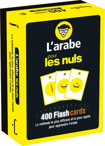 FLASHCARDS L'ARABE POUR LES NULS ABOU FAKHER ALMA FIRST