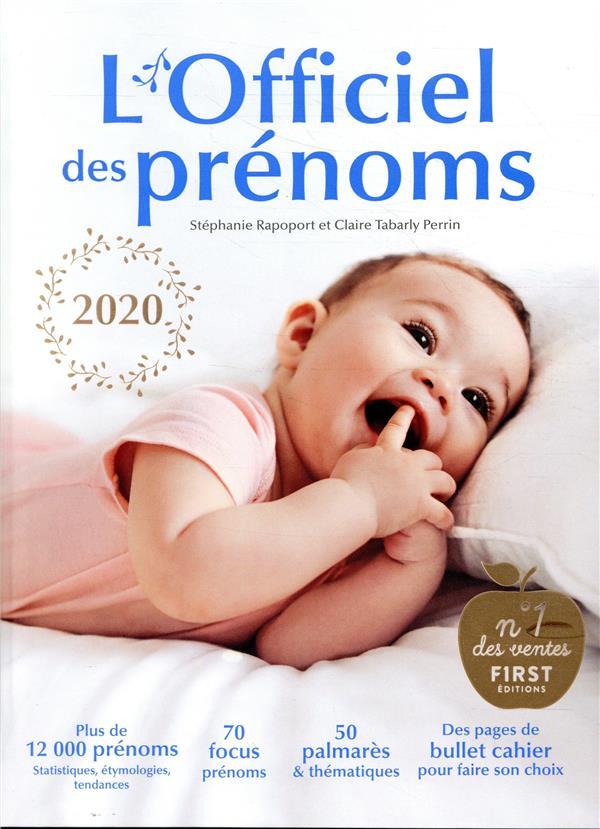 L'OFFICIEL DES PRENOMS 2020