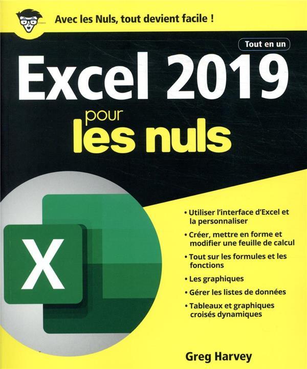 - EXCEL 2019 TOUT EN UN POUR LES NULS