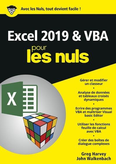 - EXCEL 2019 & VBA MEGAPOCHE POUR LES NULS