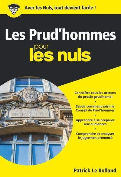les prud'hommes pour les nuls poche LE ROLLAND/MARTINEZ FIRST