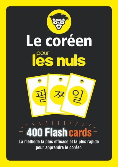 FLASHCARDS LE COREEN POUR LES NULS EUNJIN, KIM FIRST
