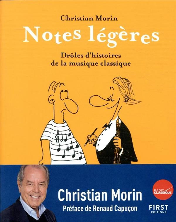 NOTES LEGERES - DROLES D-HISTO MORIN CHRISTIAN FIRST