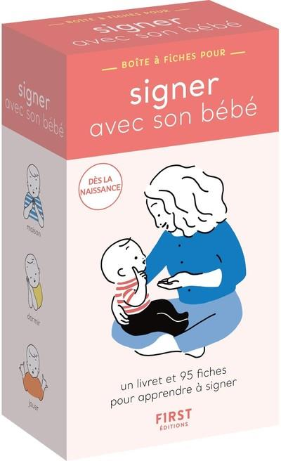 BOITE A FICHES  -  SIGNER AVEC SON BEBE OLCE/NAKAMURA FIRST