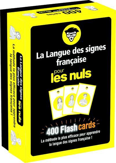 FLASHCARDS LANGUE DES SIGNES POUR LES NULS MARCHAL, OLIVIER  FIRST