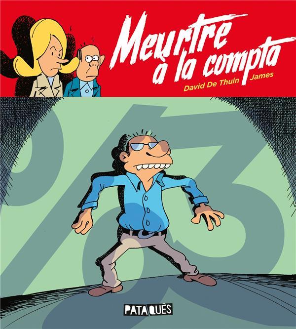 MEURTRE A LA COMPTA JAMES/DE THUIN DELCOURT