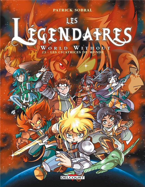 LES LEGENDAIRES T.23  -  WORLD WITHOUT