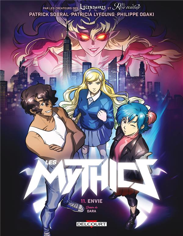LES MYTHICS T.11  -  LUXURE