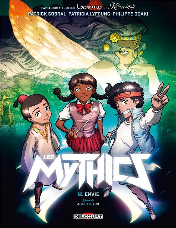 LES MYTHICS T.12  -  ENVIE