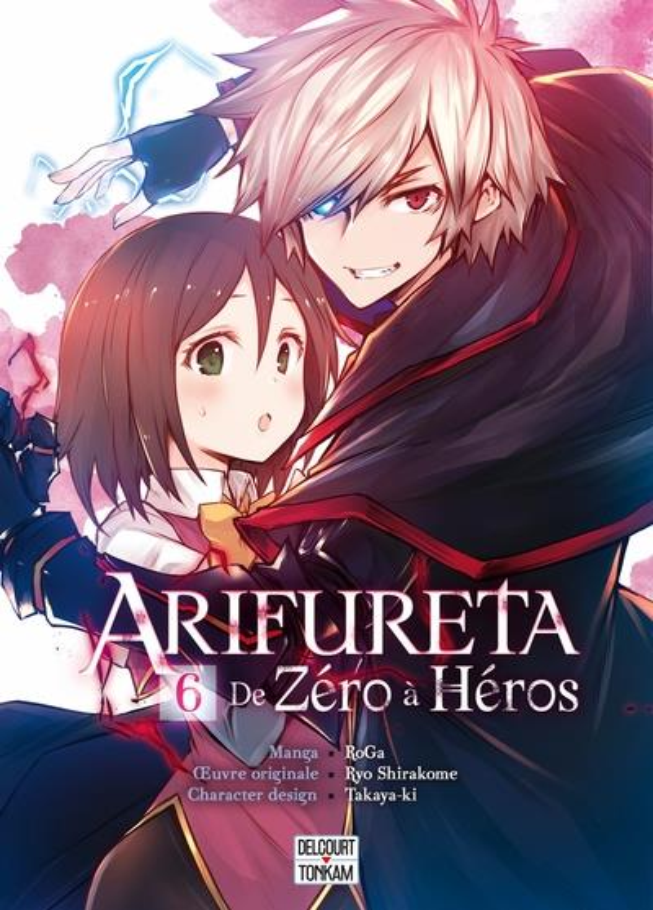 ARIFURETA  -  DE ZERO A HEROS T.6 TAKAYA-KI  DELCOURT