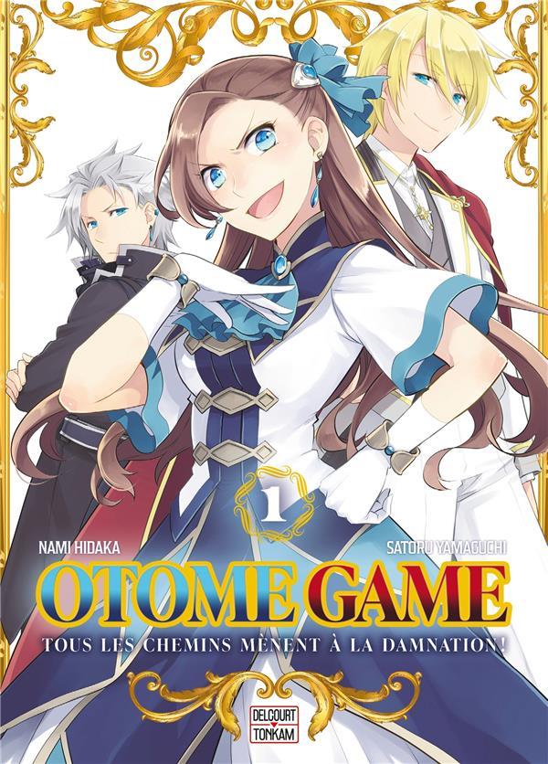 OTOME GAME T.1 YAMAGUCHI, SATORU  DELCOURT