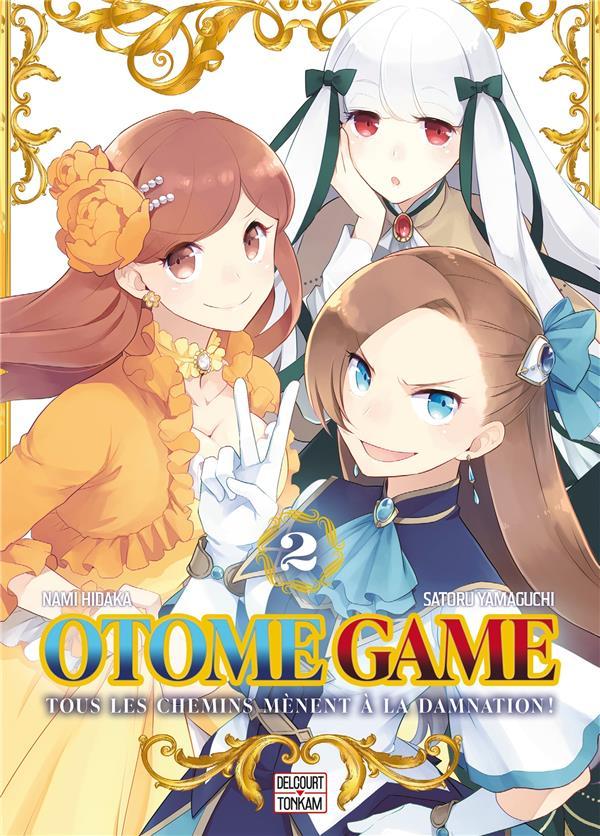 OTOME GAME T.2 YAMAGUCHI, SATORU  DELCOURT