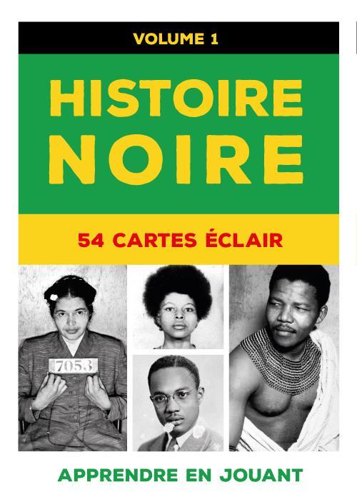 HISTOIRE NOIRE T.1  -  54 CARTES ECLAIR COLLECTIF/HADDOCK DU LUMIGNON