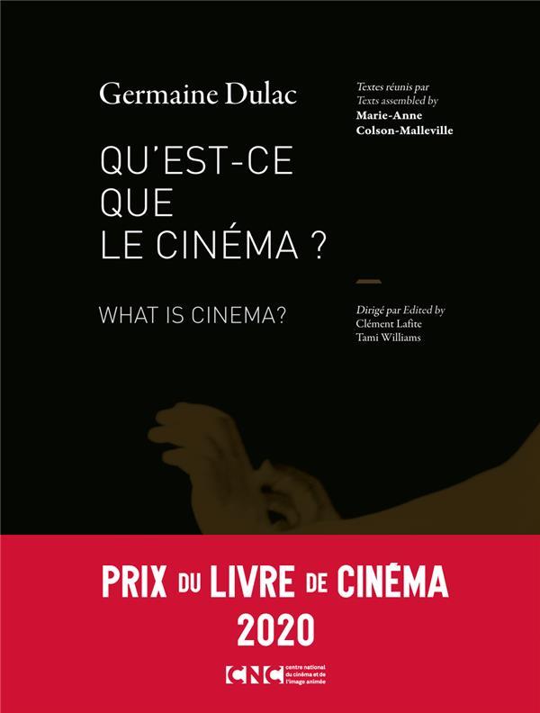 QU'EST-CE QUE LE CINEMA ?  -  WHAT IS CINEMA?