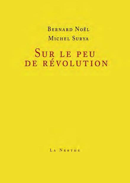 SUR LE PEU DE REVOLUTION