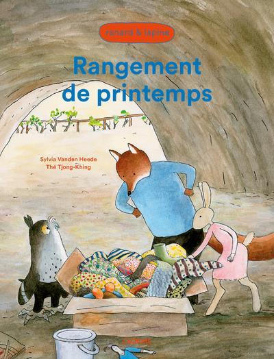 RANGEMENT DE PRINTEMPS  -  RENARD ET LAPINE