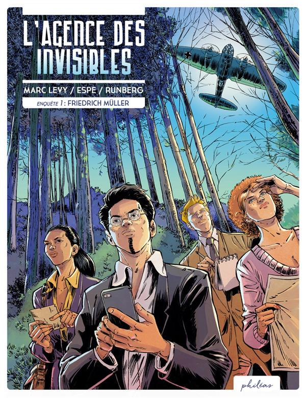 L'AGENCE DES INVISIBLES - ENQUETE 1 : FRIEDRICH MULLER LEVY/RUNBERG BOOKS ON DEMAND