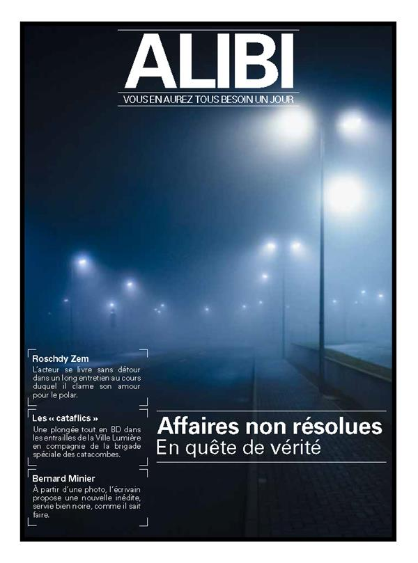 ALIBI N°1  -  LES AFFAIRES NON RESOLUES XXX BOOKS ON DEMAND