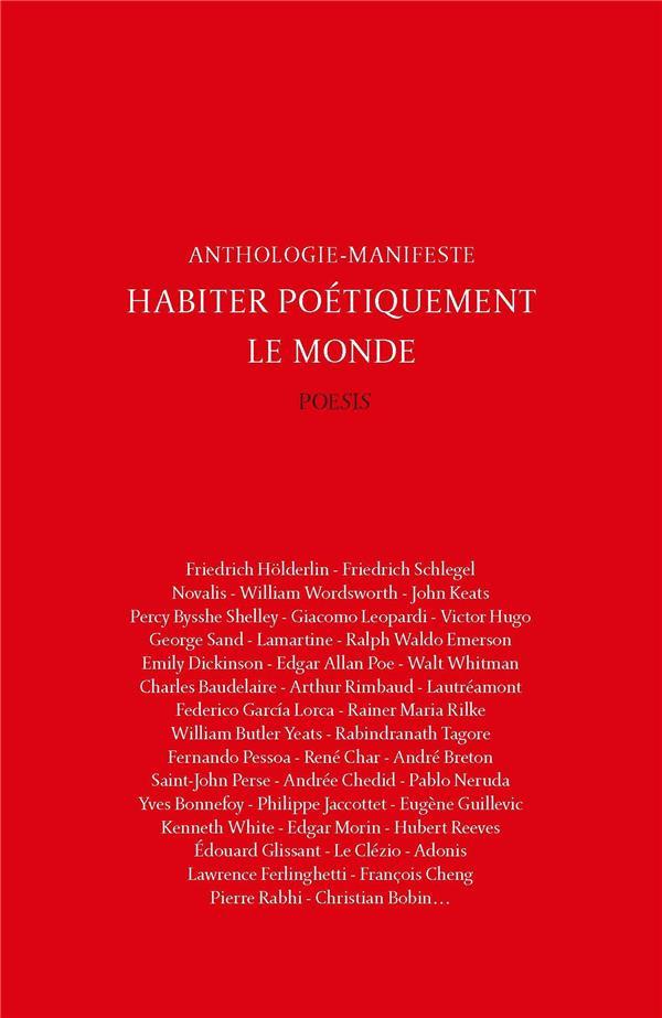 HABITER POETIQUEMENT LE MONDE  -  ANTHOLOGIE-MANIFESTE BRUN/COLLECTIF BOOKS ON DEMAND