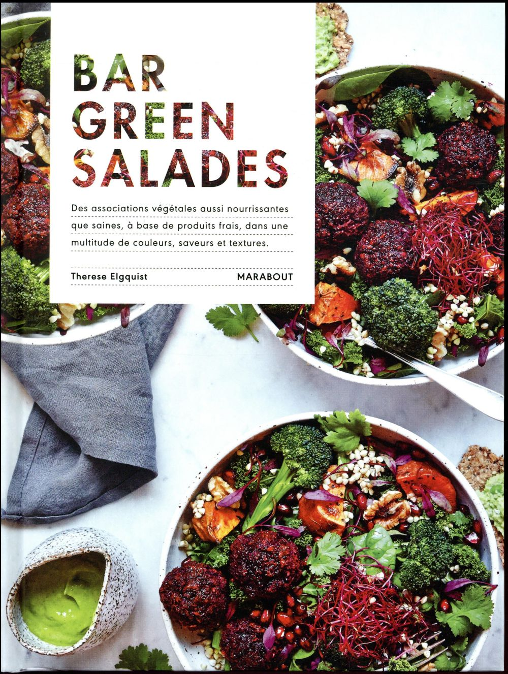 BAR GREEN SALADES ELGQUIST THERESE MARABOUT