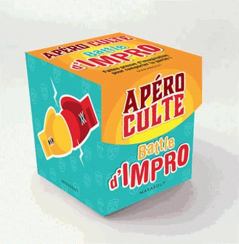 MINI BOITE APERO CULTE - BATTLE D'IMPRO  MARABOUT