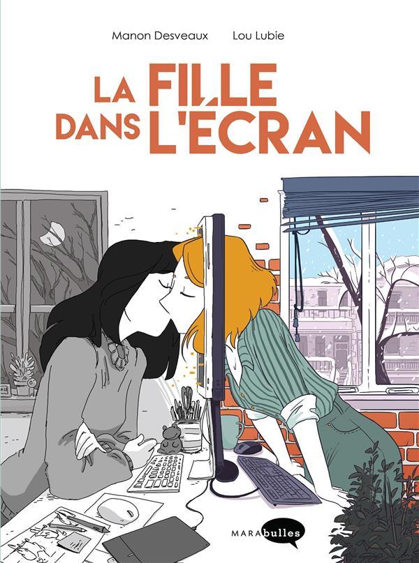 LA FILLE DANS L'ECRAN LUBIE/DESVEAUX NC